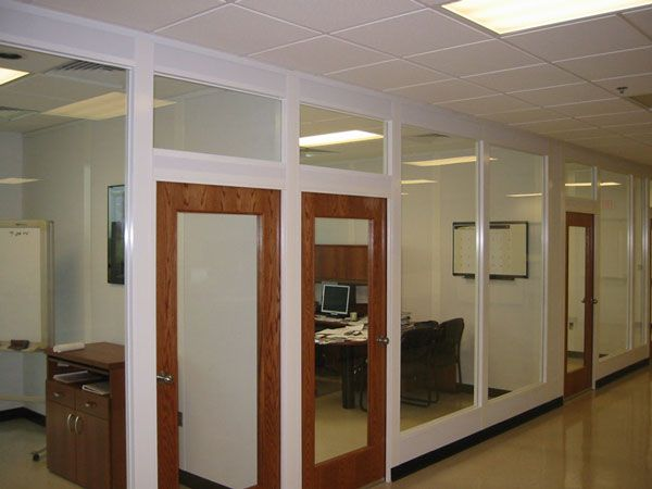 17 best images about glass walls on pinterest institute Office partition walls with doors