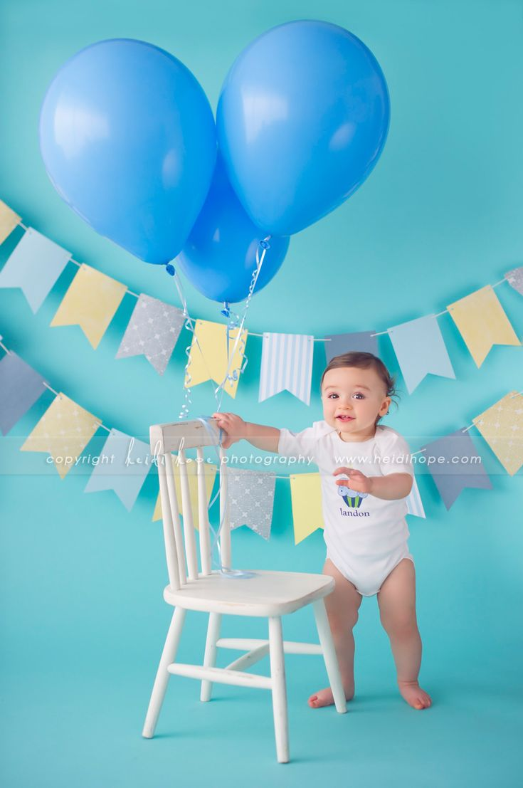 Happy first birthday baby L! Boston Massachusetts baby's first birthday cake smash photographer. » Heidi Hope Photography