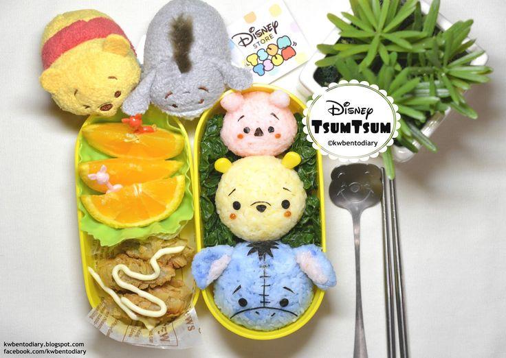 Karenwee's Bento Diary: Bento2015#Jun17~Disney TsumTsum