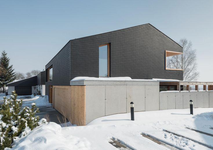 Detail Eternit. Mehr als ein Dach Satteldach modern, Haus