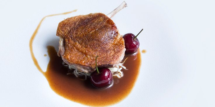 In this delicious Agnar Sverrisson recipe, duck legs are cooked sous vide to ensure perfectly cooked, tender meat. To contrast the…
