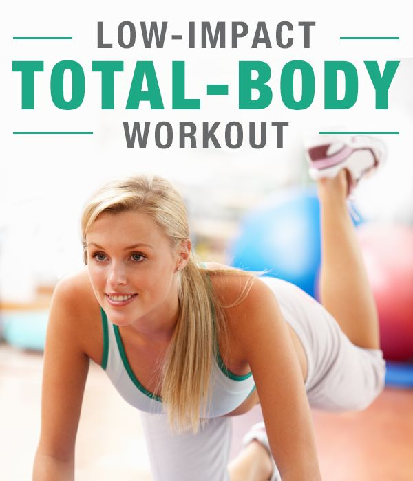 Low-Impact Total-Body Workout. #SkinnyMs #Workouts