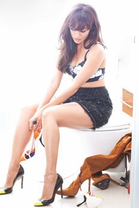 Chitrangada Singh Hot Fhm Magazine December 2013 Photoshoot Photos