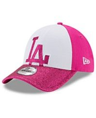 New Era Girls' Los Angeles Dodgers Shine On 9FORTY Cap