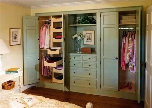 Premade Closet Systems Built Ideas Storage Away With ...