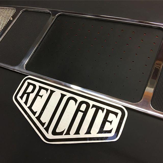 Finished Console!! #autoupholstery #leather #console #billetspecialties #kenwood #doubledin #restomod #streetrod #hotrod #trifive #custom #custominterior #handmade #madebyricky #madeinusa #protouring #upholstery #interiorsbyshannon #hashtag #carsofinstagram #carporn #saturday #work