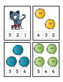 Preschool Printables: Pete the Cat