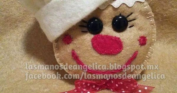 Tetera de Fieltro | Las Manos de Angelica | papa noel y navidad | Pinterest | Ps and Html