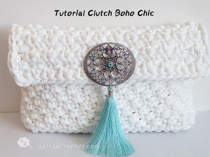 Tutorial clutch boho chic ༺✿Teresa Restegui http://www.pinterest.com/teretegui/✿༻
