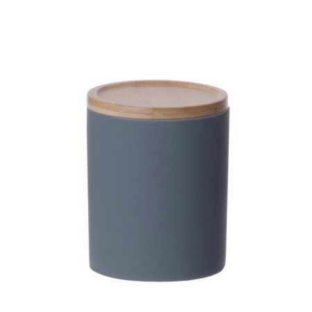 LET LIV - Medium Kitchen Canister in Dark Grey