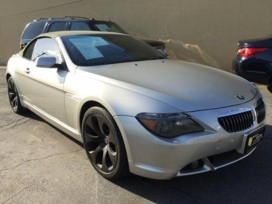 Convertible, 2004 BMW 645Ci Convertible with 2 Door in South Gate, CA (90280)