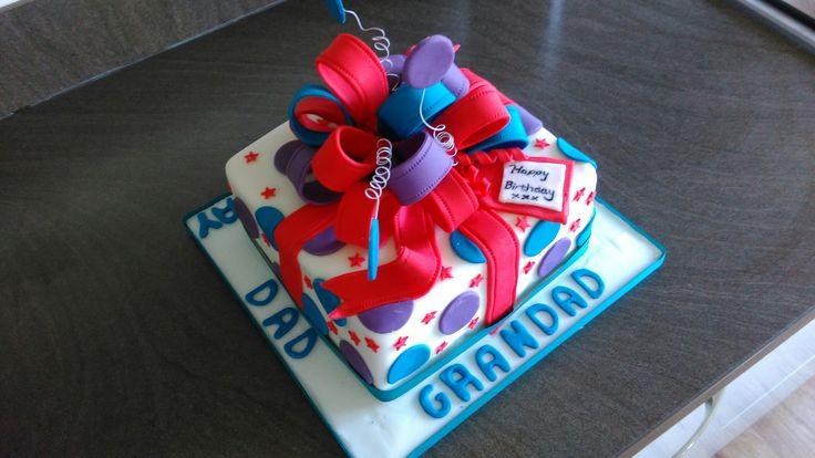 Gift boxed cake