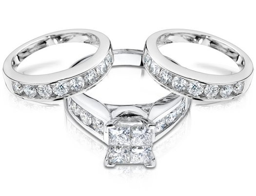 Best 25 Double wedding bands ideas on Pinterest Double band