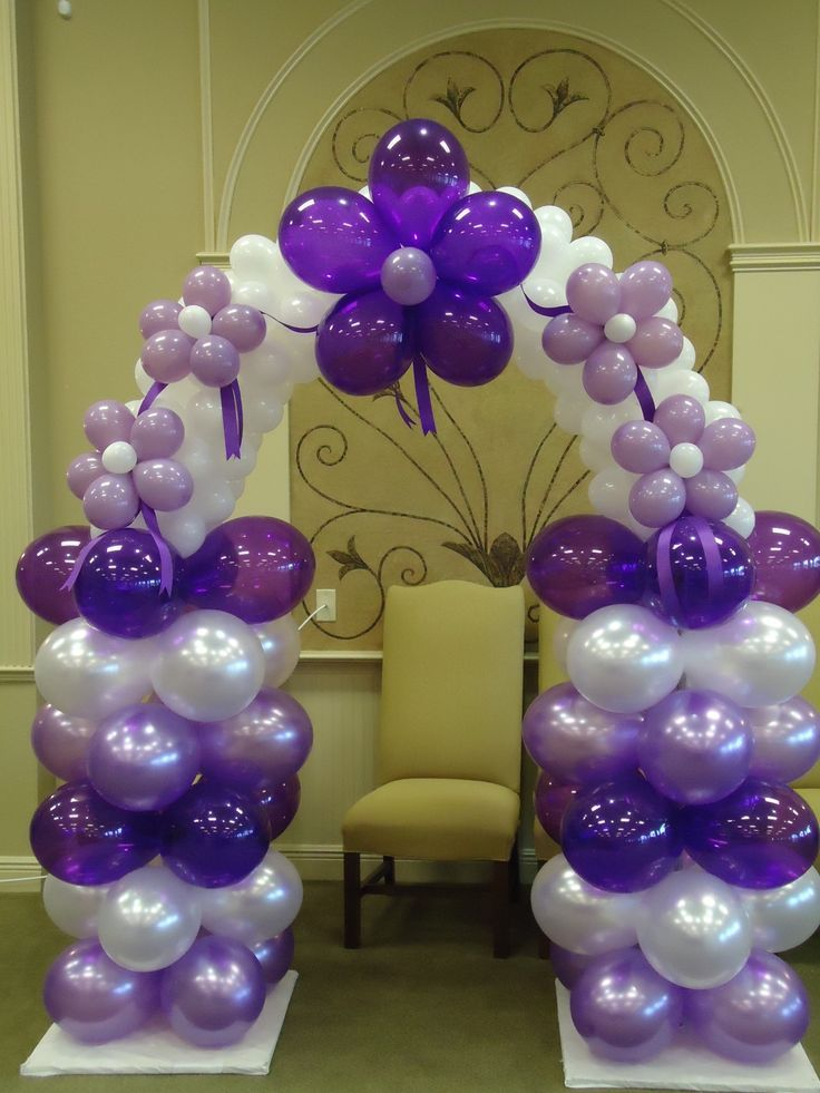 44 best birthday balloon decor for kids images on for Balloon ideas for kids