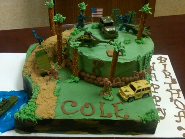 Military Airplane Cake Decorating Ideas
