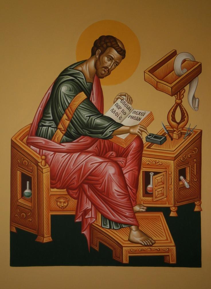 evangelist Luke by spiros skouteris