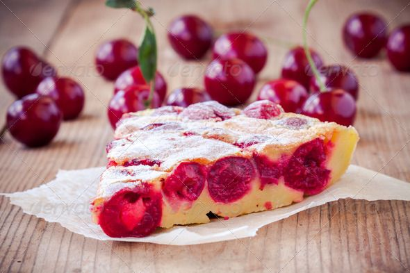 slice of cherry pie on a wooden background ...  above, apple, autumn, background, baked, baking, berry, bing, cherry, clafoutis, color, crust, dessert, directly, dish, drink, food, freshness, fruit, fruits, grain, green, homemade, horizontal, image, isolated, kitchen, lattice, object, pastry, pattern, people, photography, pie, preparation, red, refreshment, rustic, shot, single, snack, studio, sweet, table, tart, temptation, vegetables, white, wood, wooden
