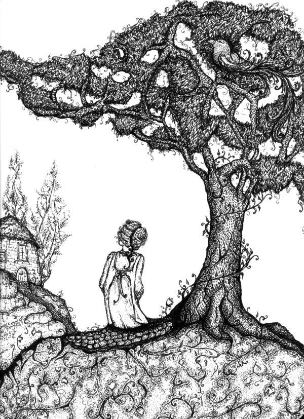 The Juniper Tree By Funnylittlebirds On Deviantart