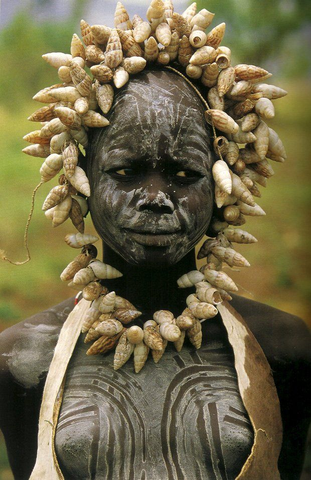 Mursi tribe - Omo Valley, Ethiopia by Hans Silvester