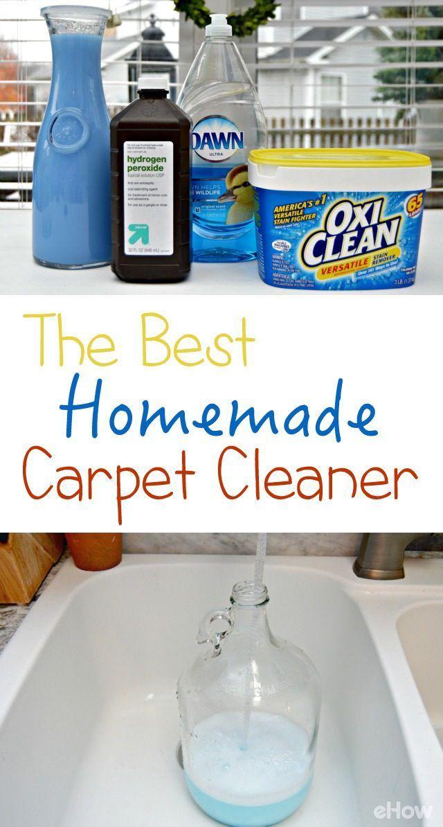 The Best Homemade Carpet Cleaner Recipes Carpet Cleaner