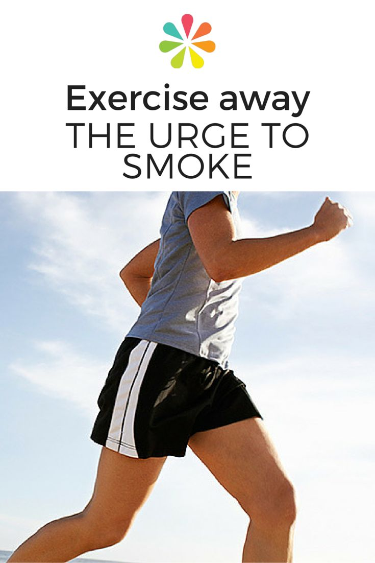 If you want to stop smoking, you have to get past the cravings and overcome the psychological hooks. Find out how exercise can help you get through it. #quitsmoking #everydayhealth   everydayhealth.com