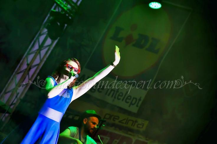 Concert Alexandra Ungureanu si Crush - lidl  www.imagesoundexpert.com