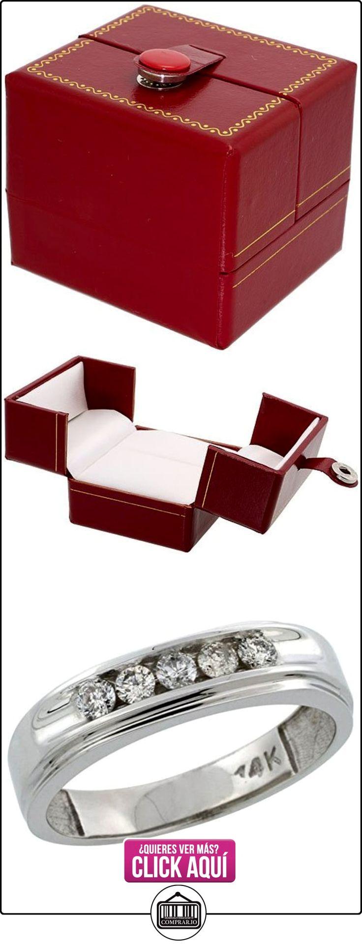 Shoppers Pride - Anillo de oro blanco  ✿ Joyas para hombres especiales - lujo ✿ ▬► Ver oferta: http://comprar.io/goto/B004U61X5Q
