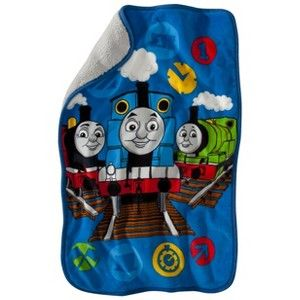Thomas the Train Throw - Blue (Toddler)