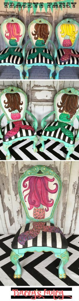 School of Mermaid Chairs | Tracey's Fancy