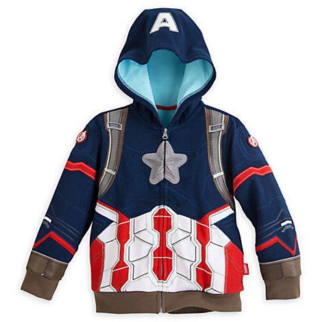 Captain America: Civil War Hoodie for Boys