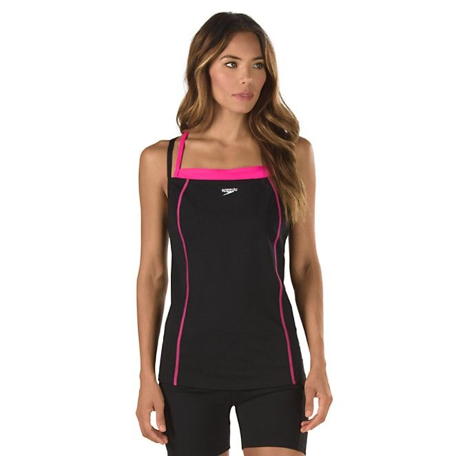 Image for Double Strap Tankini - Speedo Endurance+ from Speedo USA