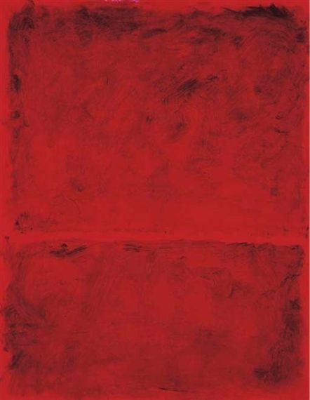 Mark Rothko, Untitled, 1968, Acrylic on paper laid down on panel Happy new year, Rothko lovers