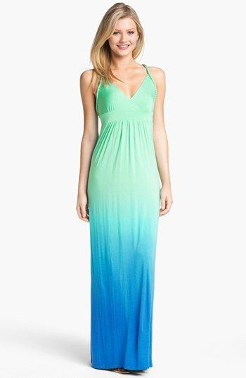 FELICITY & COCO Ombré Jersey Maxi Dress (Nordstrom Exclusive) available at #Nordstrom