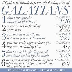 The book of Galatians is one of my favorite books of the bible. It is very…