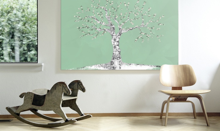 Appletree in living room