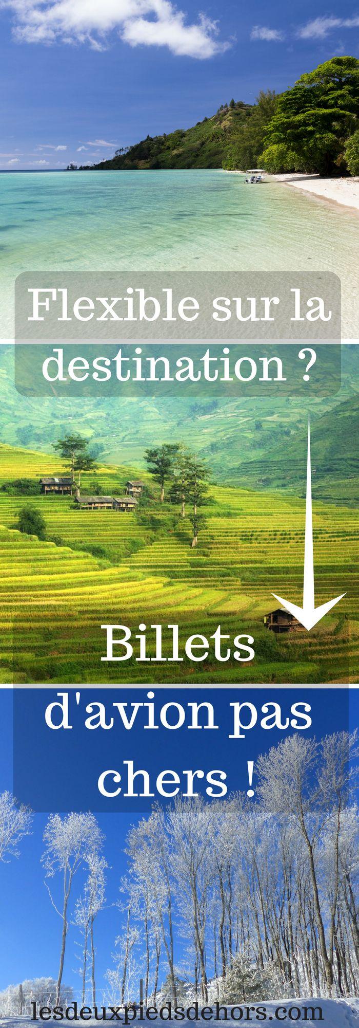 Vous êtes à la recherche de billets d'avion pas chers ? De vols pas chers ? Uns des principales astuces est d'être flexible sur sa destination ! Mais il existe d'autres astuces, les connaissez vous ?