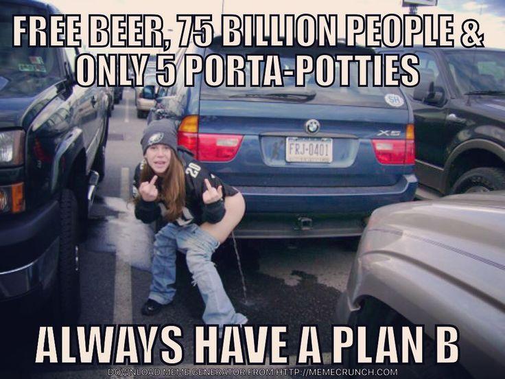 When ya gotta go ya gotta go  #phillyparade #flyeaglesfly #philadelphiaeagles #eagles #philly #carsonwentz #nickfoles #superbowl #champions #portapotty #beer #broadstreet #flyers #sixers #phillies #lgbt #rubyrose #lezbian #dallascowboys #washingtonredskins #newyorkgiants #nfl