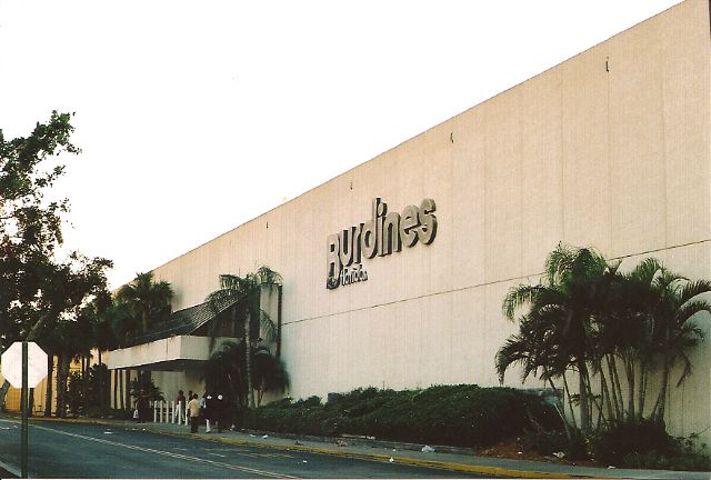 Everyone who was in WPB in the 70's and 80's will remember Burdines at the Palm Beach Mall