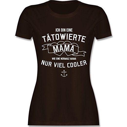 T-Shirt Damen S-XXL ICH WOG MAL 3500 GRAMM KLAR HAB ICH ZUGENOMMEN