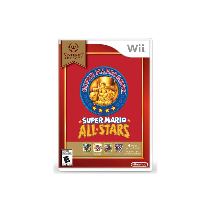 Nintendo Selects: Super Mario All-Stars Nintendo Wii