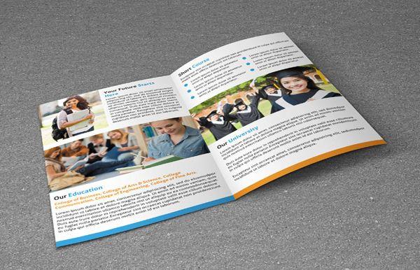 Brosur Sekolah - College Brochure Template