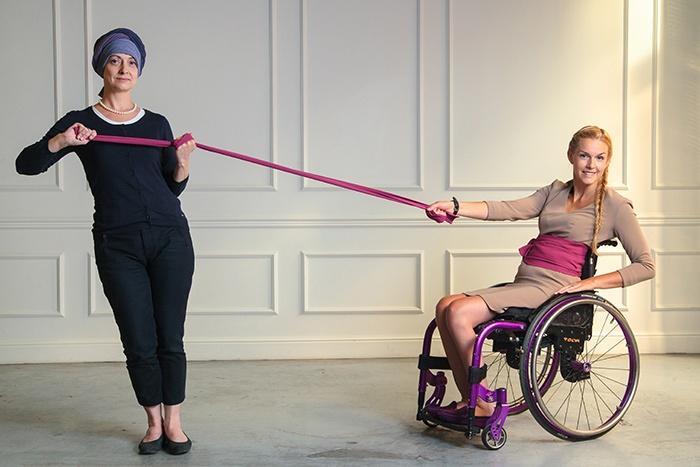 """Нужна ли дизайнерская одежда инвалидам?    """"Красота спасет мир"""". Яна Урусова воплощает этот девиз в жизнь вместе с женщинами-инвалидами: www.facebook.com/podderzhi/posts/141262186018147"""