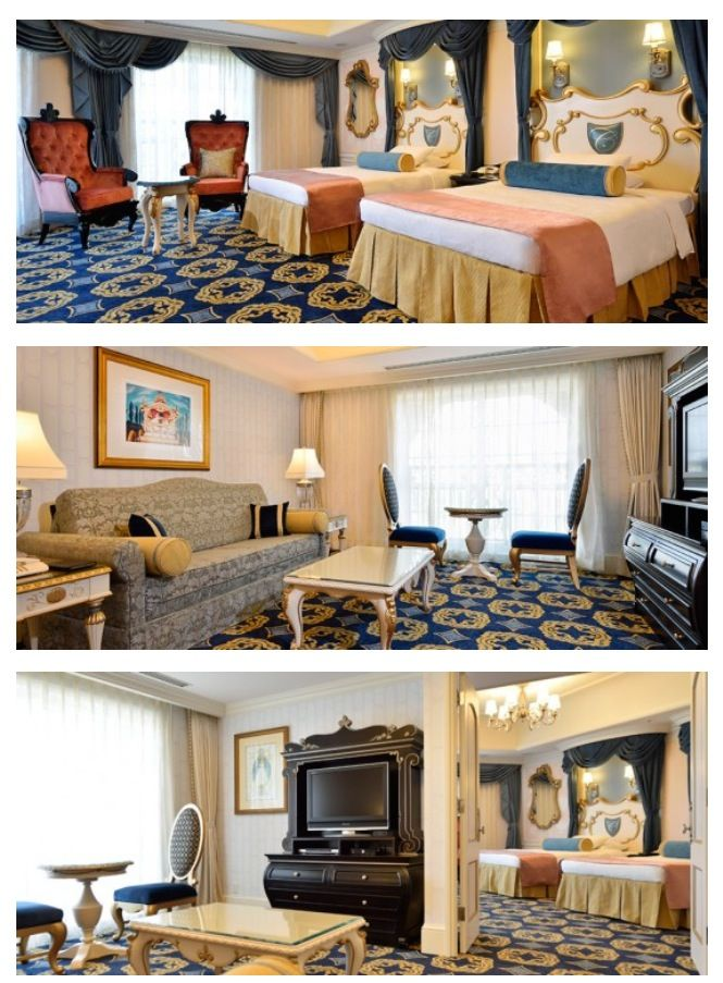 PHOTOS: Tokyo Disneyland Hotel opens new Cinderella themed hotel rooms, joining their collection of Disney inspired rooms