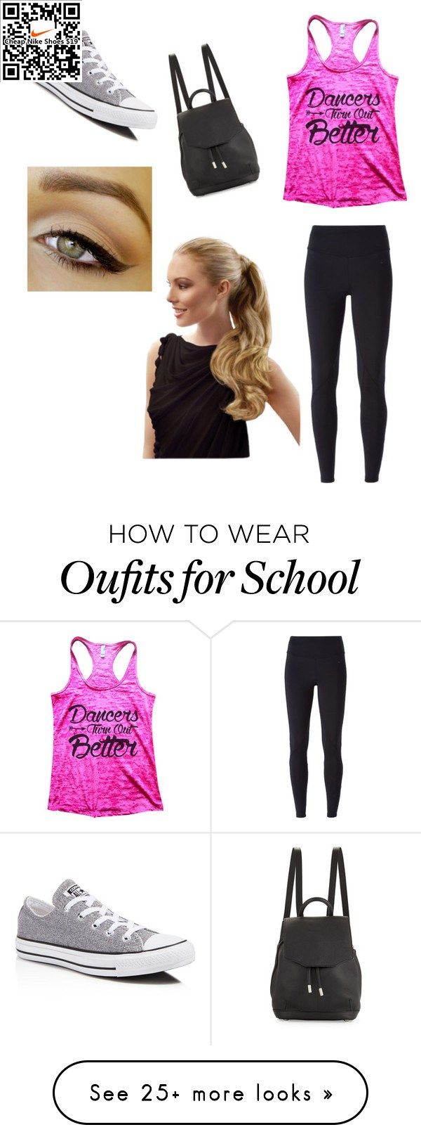 School 8! by grace-greenfield on Polyvore featuring NIKE, Converse and rag  bone