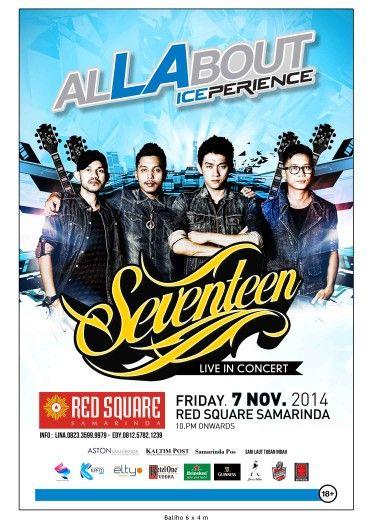 Seventeen Live in Concert @ Redsquare Samarinda on Friday, 07 November 2014