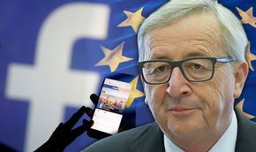 "Fake News from 'The Express' in the run up to the Referendum.:- EUROPE'S elite have announced a sweeping crackdown on freedom of speech online which has been branded ""lamentable and Orwellian"" by pro-democracy campaigners."