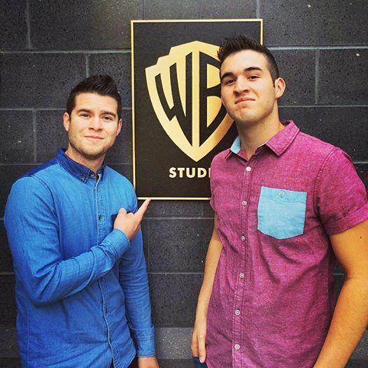 At Warner Bros studios