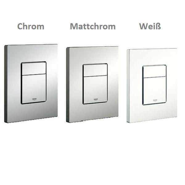 Grohe Skate Cosmopolitan WC Betätigungsplatte matt chrom (38732P