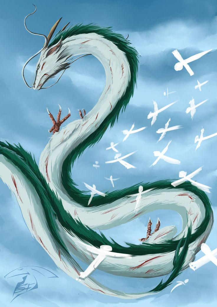 Haku ( dragon) by Super-Furet.deviantart.com on ...