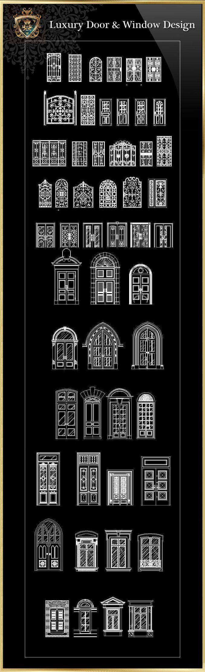 Luxus Tür & Fenster   FREE CAD BLOCKS & ZEICHNUNGEN DOWNLOAD CENTER